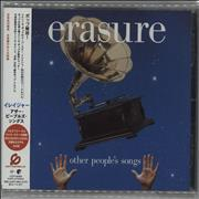 Erasure Other People's Songs Japan CD album