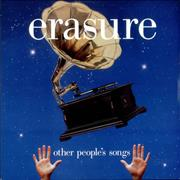 Erasure Other People's Songs UK vinyl LP