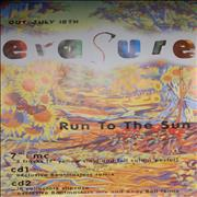 Click here for more info about 'Erasure - Run To The Sun'