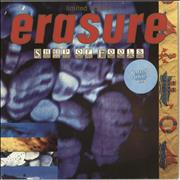 Click here for more info about 'Erasure - Ship Of Fools - Purple Swirl Vinyl'