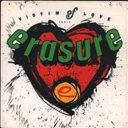 "Erasure Victim Of Love UK 7"" vinyl"