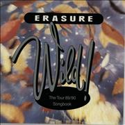 Click here for more info about 'Erasure - Wild! Tour 89-90 Songbook + Ticket Stub'