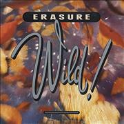 Erasure Wild! UK vinyl LP