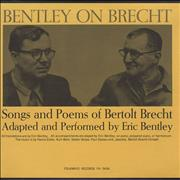Click here for more info about 'Eric Bentley - Bentley On Brecht'