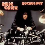 Eric Carr Rockology USA CD album Promo