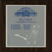 Click here for more info about 'Eric Clapton - 100 Shows Not Out!'