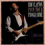 Click here for more info about 'Eric Clapton - 1989 Tour + Ticket stub'