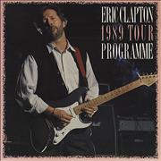 Click here for more info about 'Eric Clapton - 1989 Tour Programme'