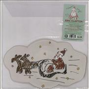 Eric Clapton A Little Bit Of Christmas Love USA shaped picture disc