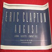 Click here for more info about 'Eric Clapton - August - Namecard 1st Proof'