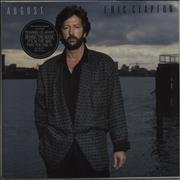 Click here for more info about 'Eric Clapton - August - Stickered sleeve'