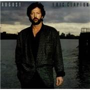 Eric Clapton August UK vinyl LP