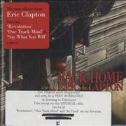 Click here for more info about 'Eric Clapton - Back Home'
