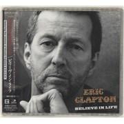 Eric Clapton Believe In Life Japan CD single