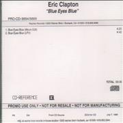 Click here for more info about 'Eric Clapton - Blue Eyes Blue - Album Edit & LPV Version'
