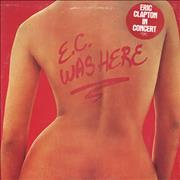 Click here for more info about 'Eric Clapton - E.C. Was Here - Stickered sleeve'