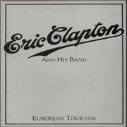 Click here for more info about 'Eric Clapton And His Band + Ticket Stubs'