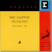 Click here for more info about 'Eric Clapton - Five Long Years'