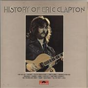 Click here for more info about 'Eric Clapton - History Of Eric Clapton - EX'