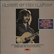 Click here for more info about 'Eric Clapton - History Of Eric Clapton - Stickered - EX'
