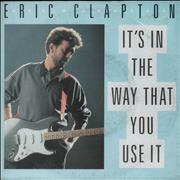 Click here for more info about 'Eric Clapton - It's In The Way That You Use It'