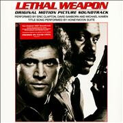 Click here for more info about 'Eric Clapton - Lethal Weapon - Clear Vinyl - Sealed'