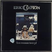 Eric Clapton No Reason To Cry - 1st UK vinyl LP