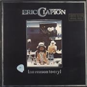 Click here for more info about 'Eric Clapton - No Reason To Cry - Gold Stamped Sleeve'
