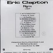 Click here for more info about 'Eric Clapton - Pilgrim - Cd Advance'