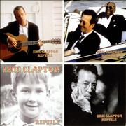 Click here for more info about 'Eric Clapton - Reptile - Set Of 4 Promo Postcards'