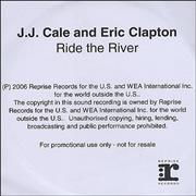 Click here for more info about 'Eric Clapton - Ride The River'