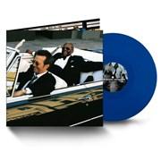 Eric Clapton Riding With The King - Blue Vinyl UK 2-LP vinyl set