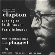 Click here for more info about 'Eric Clapton - Running On Faith'