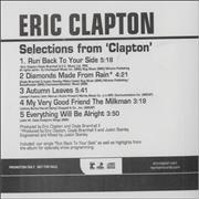 Click here for more info about 'Eric Clapton - Selections From Clapton'