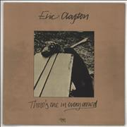 Eric Clapton There's One In Every Crowd + Insert UK vinyl LP