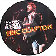 Click here for more info about 'Eric Clapton - Too Much Monkey Business'