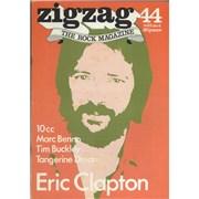Eric Clapton Zig Zag Magazine No. 44 UK magazine