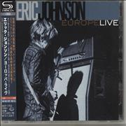 Click here for more info about 'Eric Johnson - Europe Live'