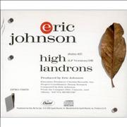 Click here for more info about 'Eric Johnson - High Landrons'