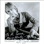 Click here for more info about 'Eric Johnson - Signed Photograph'