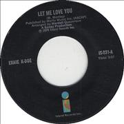 Click here for more info about 'Ernie K-Doe - Let Me Love You'