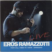 Click here for more info about 'Eros Ramazzotti - That's All I Need To Know - Difendero'