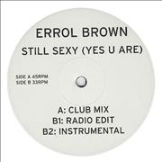 Click here for more info about 'Errol Brown - Still Sexy (Yes You Are)'