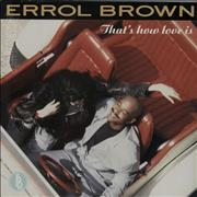 Click here for more info about 'Errol Brown - That's How Love Is'