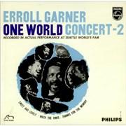 "Erroll Garner One World Concert Vol. 2 UK 7"" vinyl"