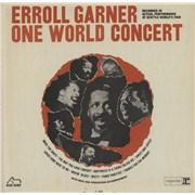 Erroll Garner One World Concert USA vinyl LP