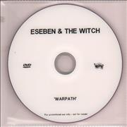 Esben And The Witch Warpath UK promo DVD-R Promo