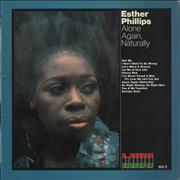 Esther Phillips Alone Again, Naturally UK vinyl LP