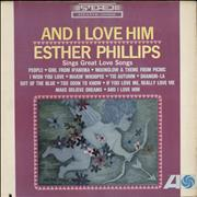 Esther Phillips And I Love Him USA vinyl LP