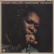 Esther Phillips Confessin' The Blues UK vinyl LP
